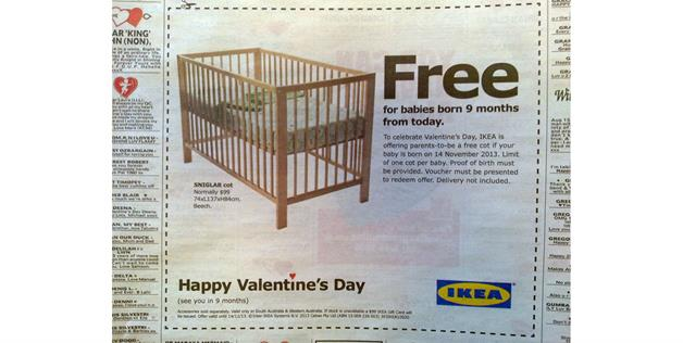 Ikea Valentine's Day